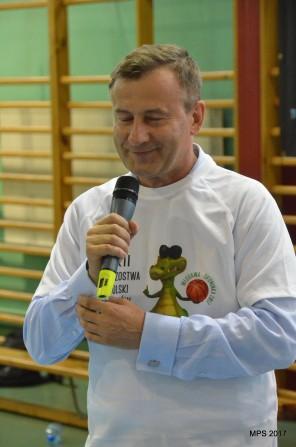 Marszałek Województwa Lubelskiego Krzysztof Grabczuk na ceremonii otwarcia MPS 2017
